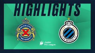 Waasland-Beveren - Club Brugge hoogtepunten