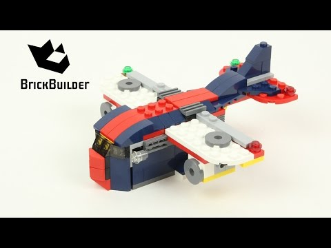Lego Creator 31045 Cargo Plane Lego Speed Build Youtube