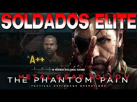 [Metal Gear Solid V: The Phantom Pain] [Guía/truco] Conseguir soldados Elite (A+, A++, S, S+)