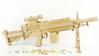 DIY Awesome Machine Gun  from Cardboard