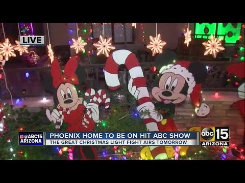 Phoenix home to be featured on hit ABC show about Christmas lights