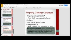 Chapter 13 (Home and Vehicle Insurance), Section 3 (Motor Vehicle Insurance)