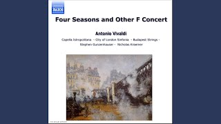 The Four Seasons Violin Concerto In F Minor Op 8 No 4 Rv 297 34 Winter 34 I Allegro Non Molto