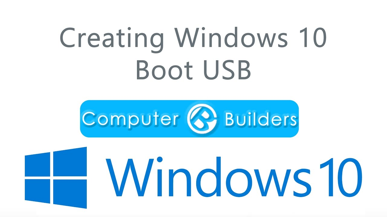 create windows 10 recovery usb with rufus