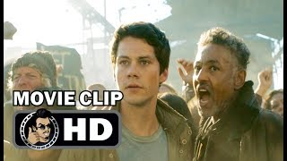 MAZE RUNNER: THE DEATH CURE Movie Clip - The Wall (2018) Sci-Fi Action Thriller Movie HD