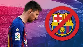 Le jour où Lionel Messi a voulu quitter le FC Barcelone - Oh My Goal
