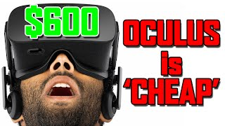 Oculus Rift Price of $600 is