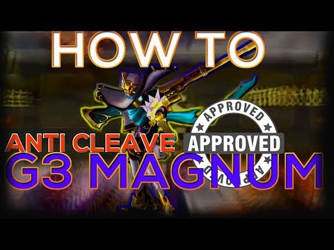 [RTA REPLAY] ANTI CLEAVE GOD, How To Magnum In G3 Real Time Arena