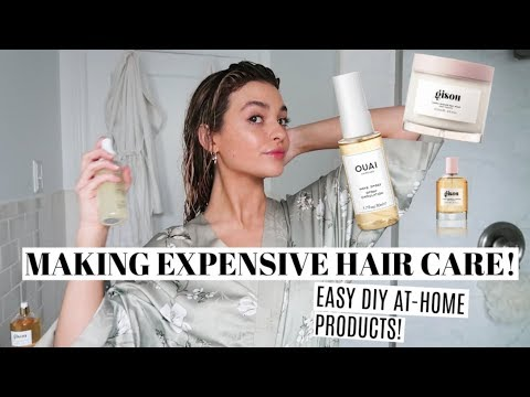 DIY HairCare Products! Recreating Expensive products at home! - YouTube