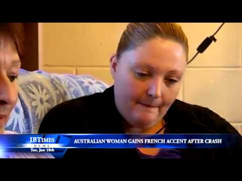 Australian Woman Gains French Accent After Crash
