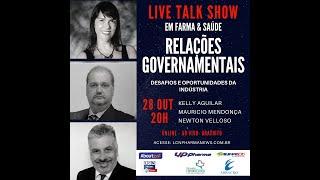 TALK SHOW - 28 OUTUBRO 2020 - RELAÇÕES GOVERNAMENTAIS