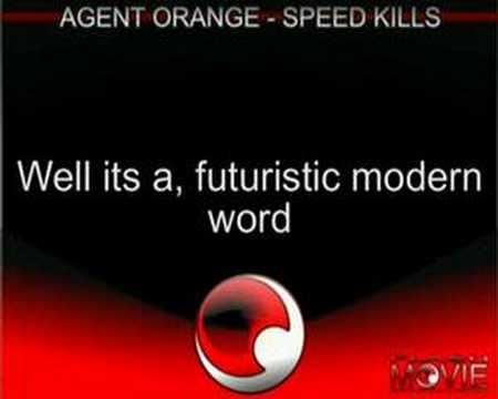 Agent Orange - Blood Stains