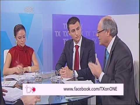 Edward Scicluna MEP on TX - ONE TV