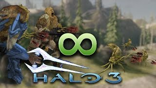 Halo 3 AI Battle - Endless Infection Form Waves