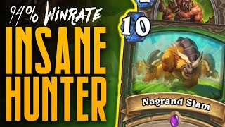 94% Winrate - This Hunter Deck is INSANE! - Ashes of Outland - Hearthstone