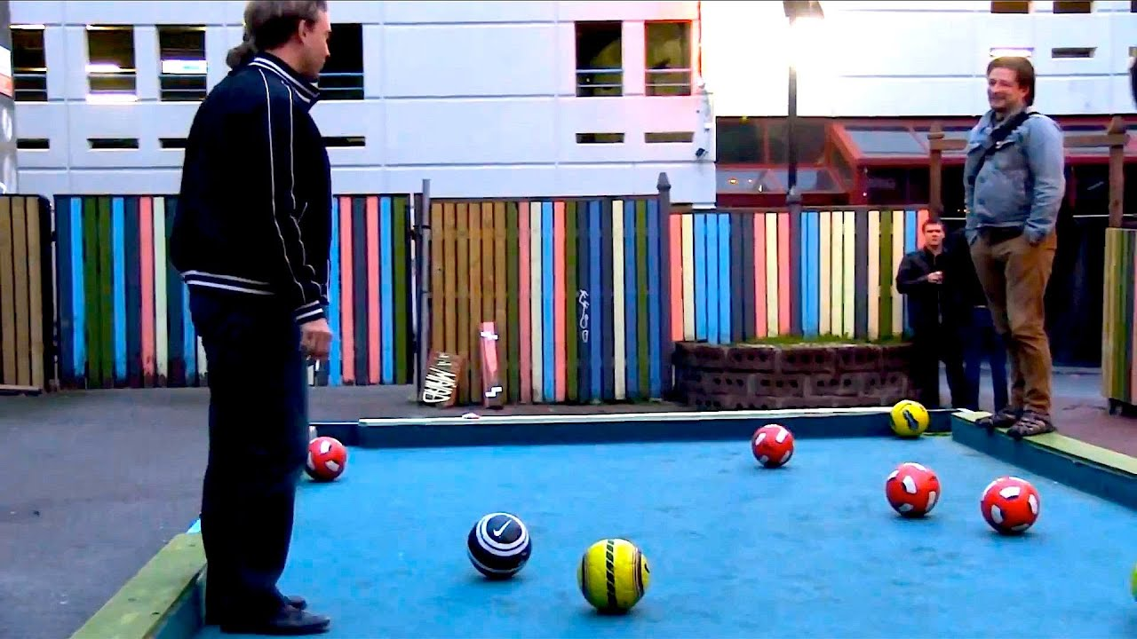 Super Sized Pool Table YouTube - Life size pool table