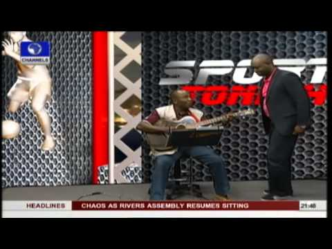 Osejie gives Sports Tonite Live Shout Out