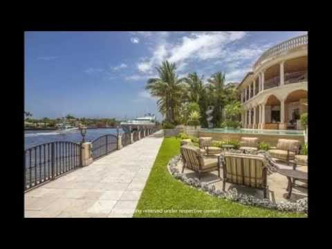 32 Million Dollar Florida Mansion / Fort Lauderdale Florida U.S.A. / Brasspineapple Productions