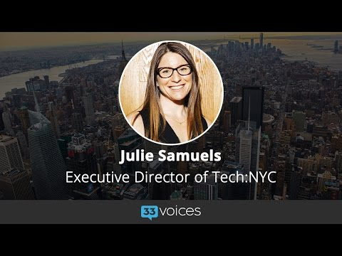 How Tech:NYC is Championing New York Entrepreneurship with Executive Director Julie Samuels