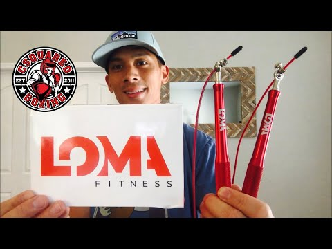 Lomachenko/ LOMA Fitness Jump Rope REVIEW- THE SPEED ROPE THAT LOMACHENKO USES!