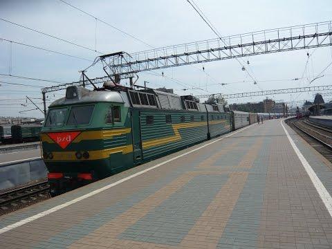 На России по России. Скорый поезд №2 Москва - Владивосток.