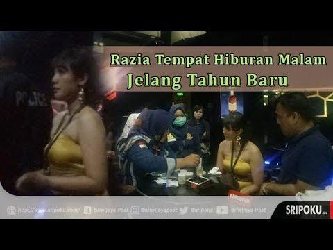 Video Razia Tempat Hiburan Malam di Palembang Jelang Tahun Baru, Ini Temuan Petugas