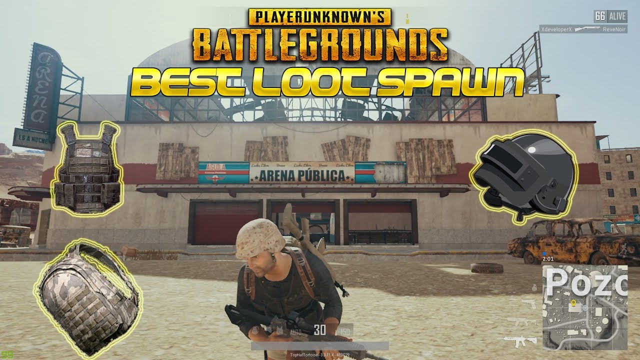 Playerunknown S Battlegrounds Maps Loot Maps Pictures: Best Loot Spawn Location On Miramar ( PUBG New Map)