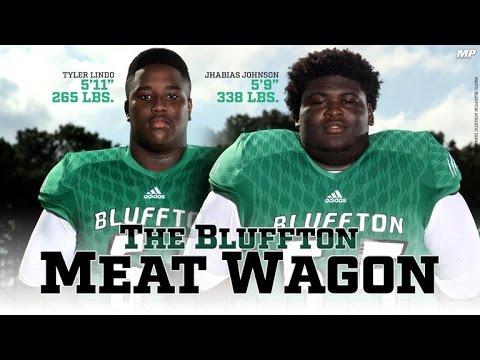 Meat Wagon - biggest backfield in America