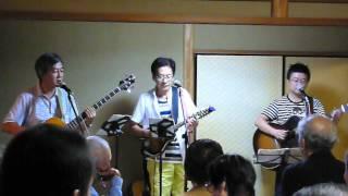 2013年9月1日 カフェ・頼政道にて.