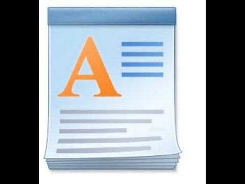 Learn Basics Window Wordpad Techniques Personal Computer