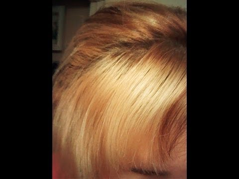 how to lighten hair without using bleach youtube
