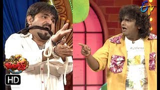 Chalaki Chanti&Sunami Sudhakar Performance | Jabardasth | 19th September 2019  | ETV Telugu