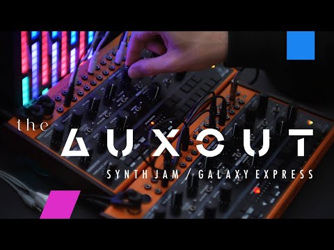 BEHRINGER CRAVE - live jam / galaxy express