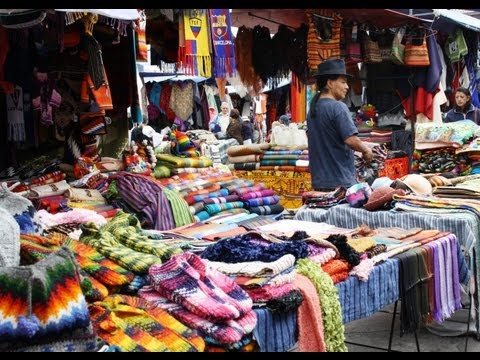 Otavalo Handicraft Market and Surroundings Tour in Ecuador by Gulliver Expeditions