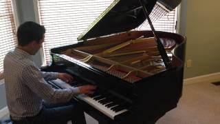 """""""God Bless the USA"""" by Lee Greenwood (original piano arrangement)"""