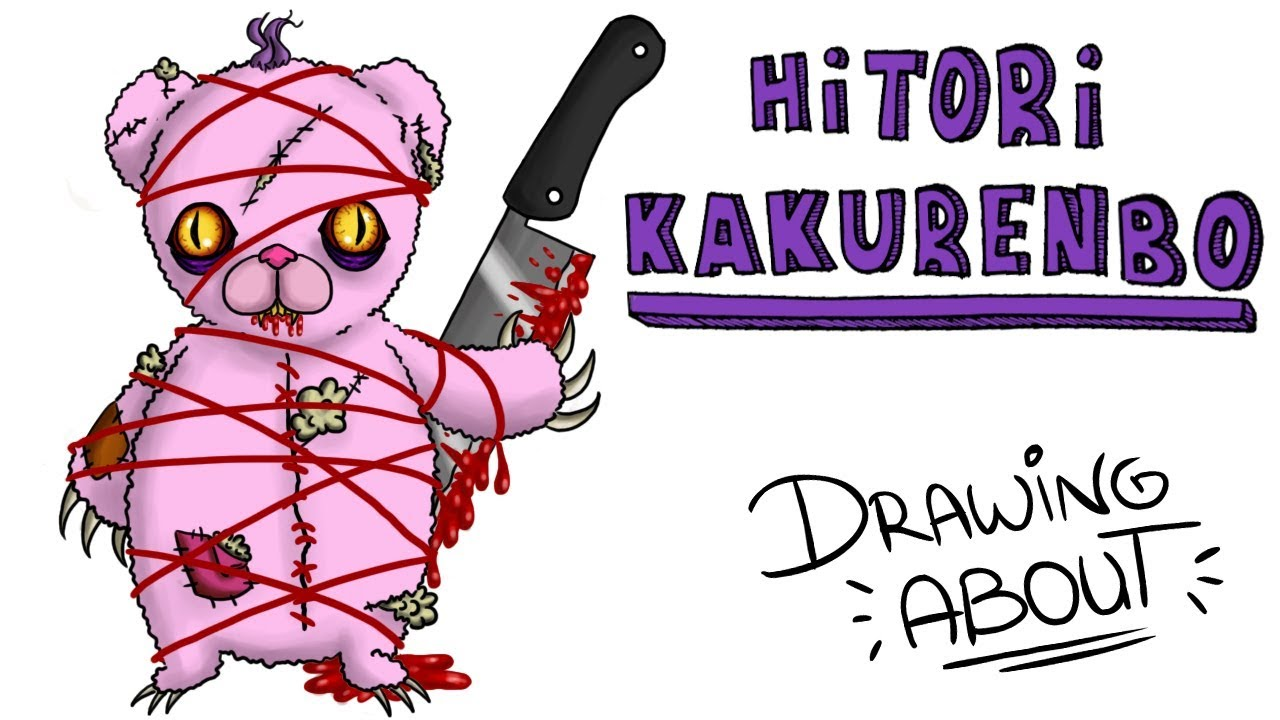 HITORI KAKURENBO EL RITUAL JAPONÉS | Draw My Life paranormal