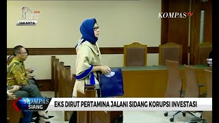 Download Video Eks Dirut Pertamina, Karen Agustiawan Jalani Sidang Korupsi Investasi MP3 3GP MP4