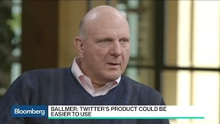 Steve Ballmer: Twitter Is an Irreproducible Asset