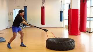 Упражнение «Кувалда» на боксе в Магис Спорт