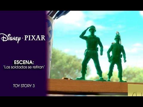 Toy story 3 escena 39 los soldados se retiran 39 disney pixar oficial youtube - Cochon de toy story ...