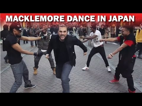 Macklemore (Can't Hold Us) - Exclusive Hip Hop Dance in Japan - Guillaume Lorentz