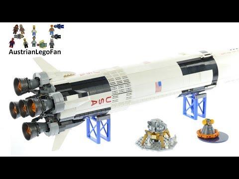 Lego Ideas 21309 NASA Apollo Saturn V - Lego Speed Build Review