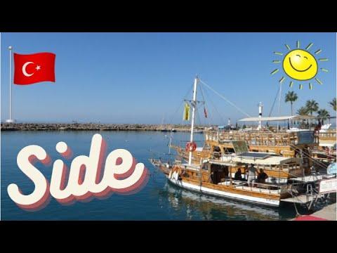 Download Side Türkei Altstadt und Hafen
