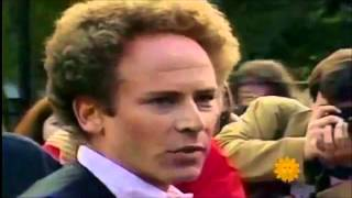 Simon and Garfunkel in Central Park