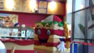 Creepy Lasagna Mascot