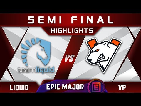 Liquid Vs VP Semi Final EPICENTER Major 2019 Highlights Dota 2
