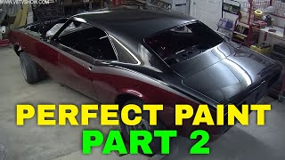 Tricks For A Perfect Paint Job: Painting A 1967 Camaro Part 2 Video V8TV
