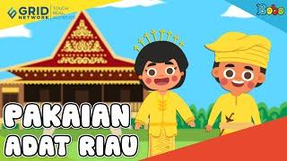 Pakaian Adat Riau - Seri Budaya Indonesia