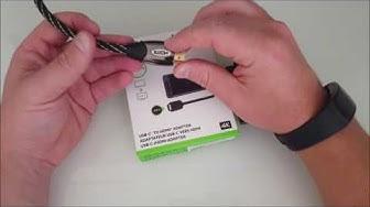 Adattatore USB C a HDMI 4K Belkin