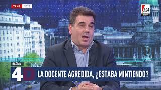 Ritondo sobre la docente atacada en Moreno: